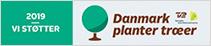 Vi støtter Danmark planter træer 2019
